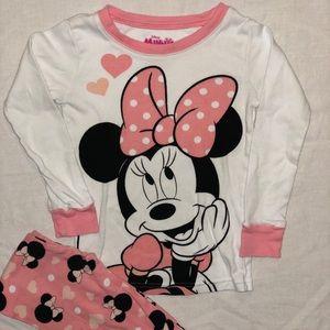 Minnie Mouse Long Sleeve PJs